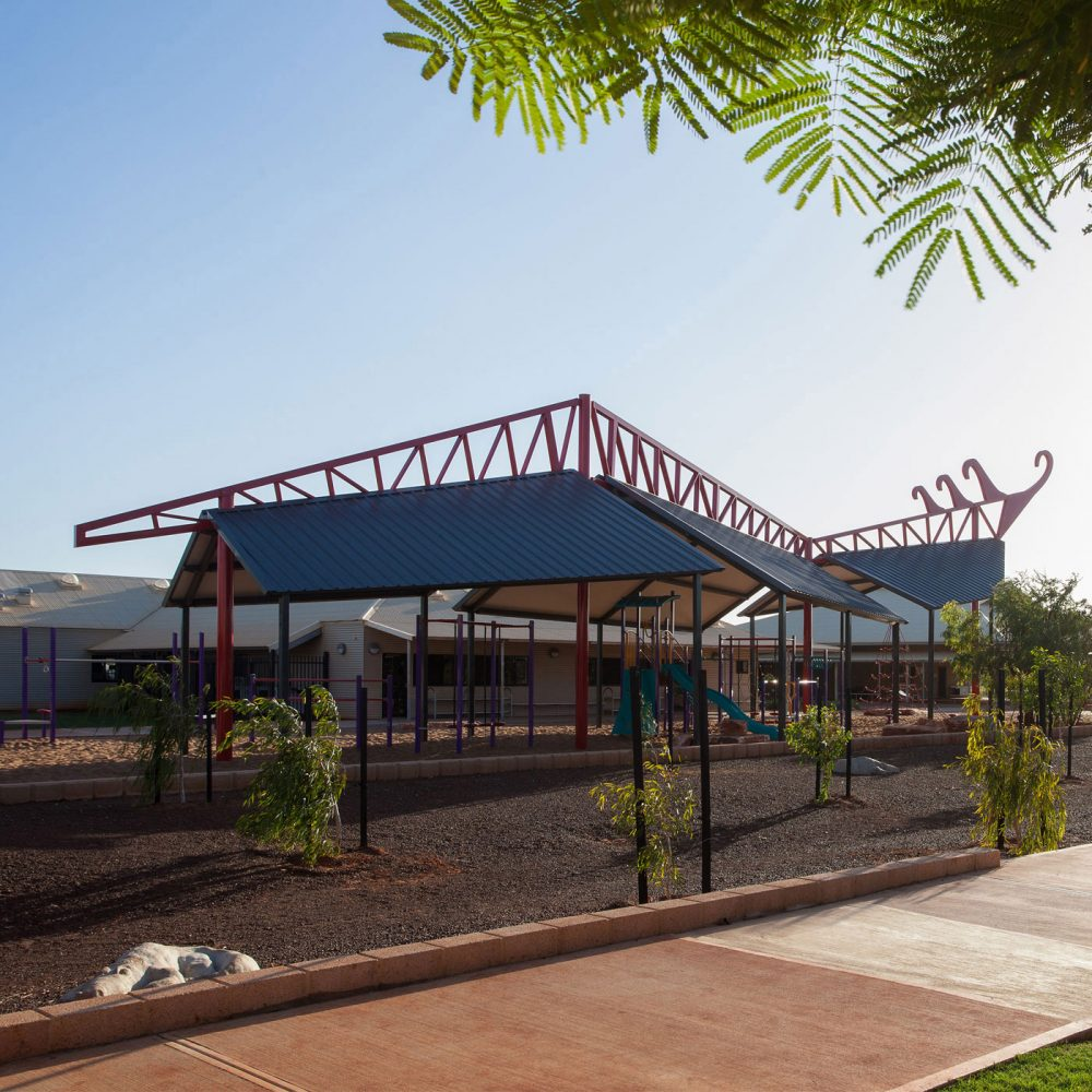 Broome North Primary School Dragon Structure Shade Playground