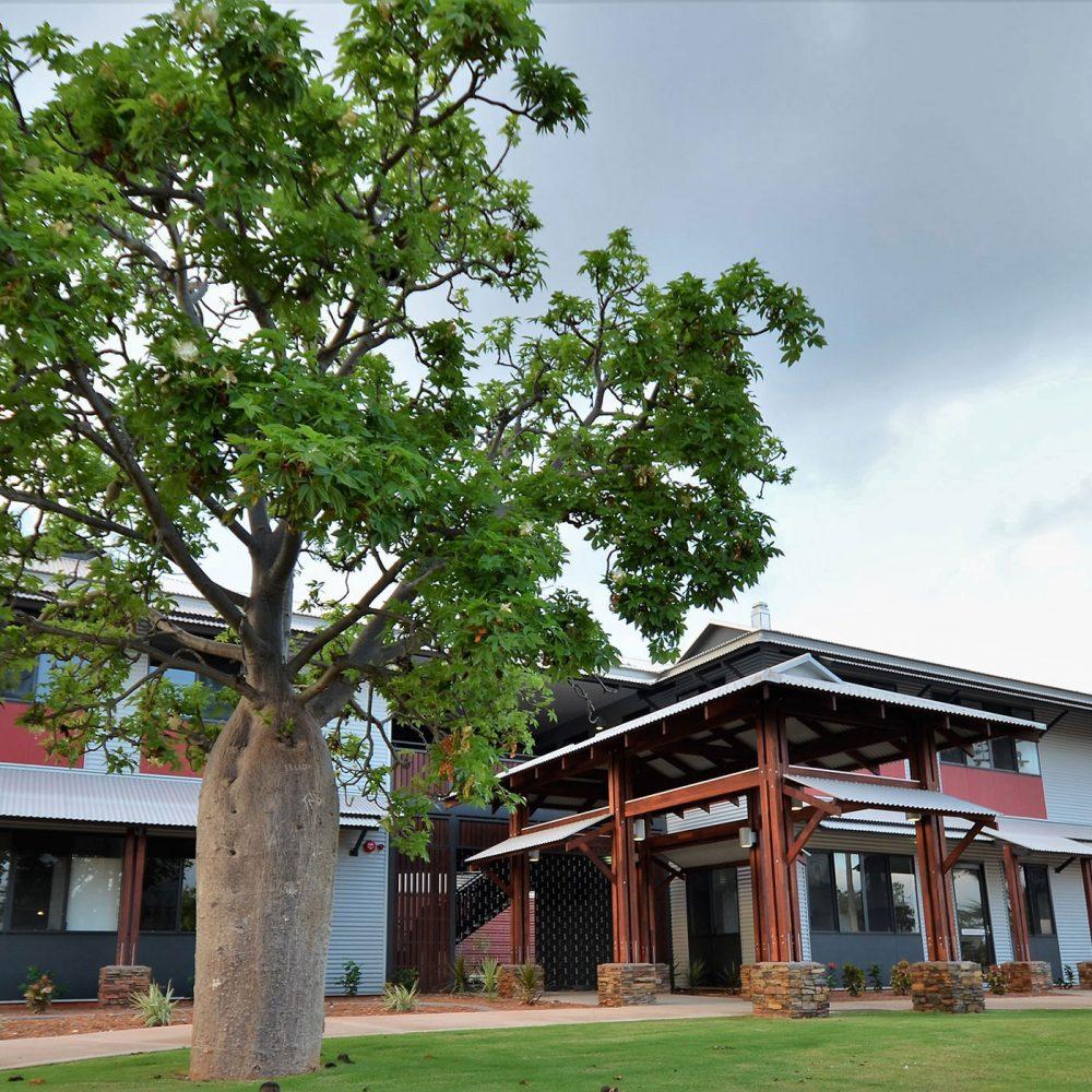 Napier Terrace Broome Vernacular Office Entrance